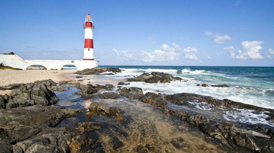 La zona del Faro de Salvador de Bahía, un paisaje idílico y peligroso.