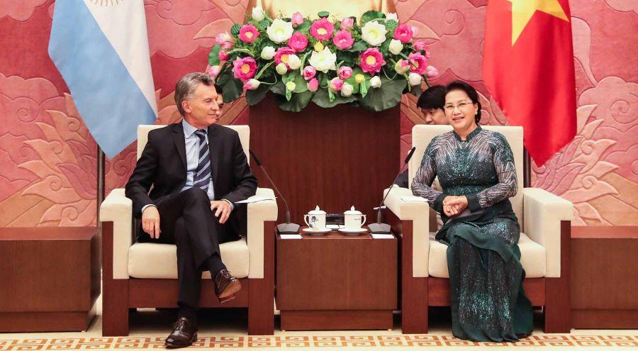 Macri de visita en Hanoi 20022019