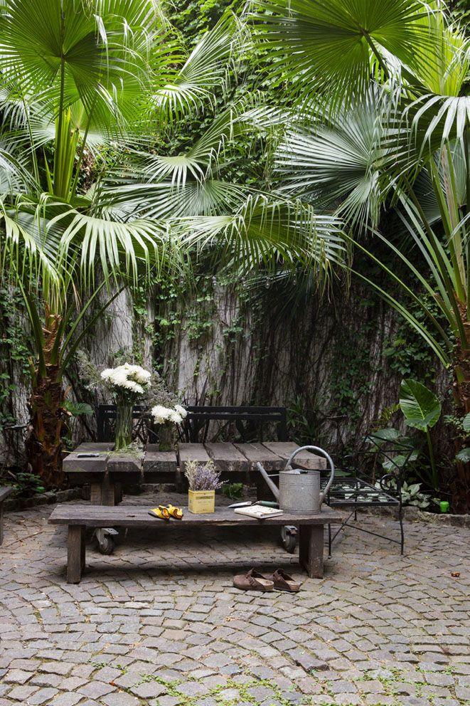 Un oasis verde en pleno Palermo
