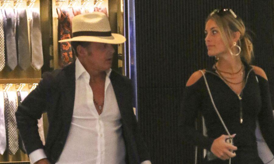 Luis Miguel y su novia Mollie Gold