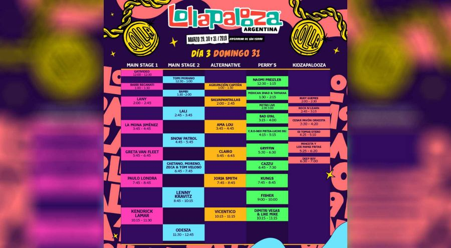 Lollapalooza 03201907