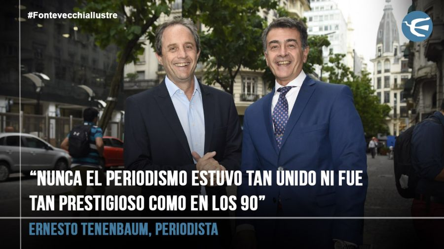 Ernesto Tenenbaum, periodista 20190312