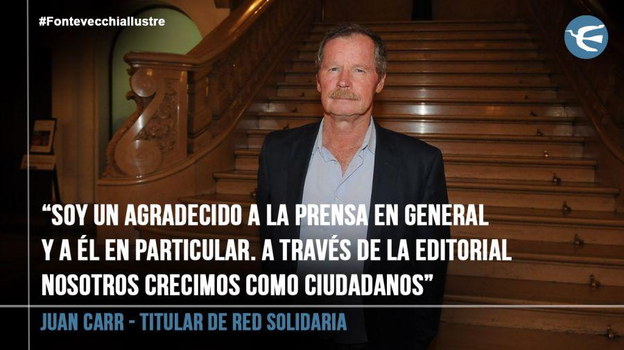 Juan Carr - titular de Red Solidaria 20190312