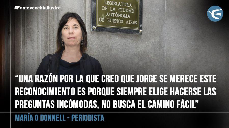 María O Donnell , periodista 20190312