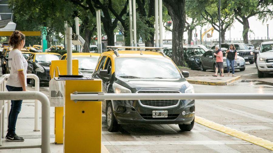 Taxis en aeroparque