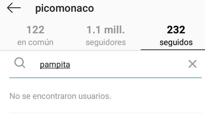 El contundente gesto de Pico Mónaco, después de la oficialización de Pampita