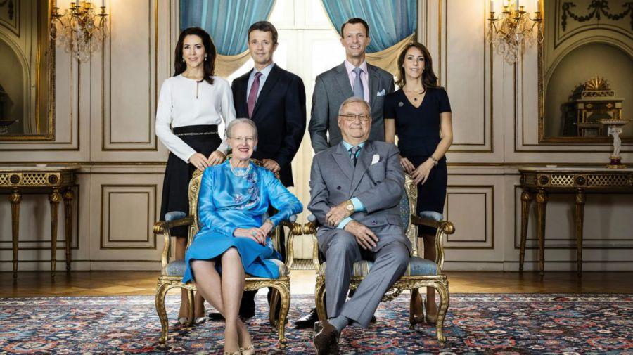 familia real de dinamarca