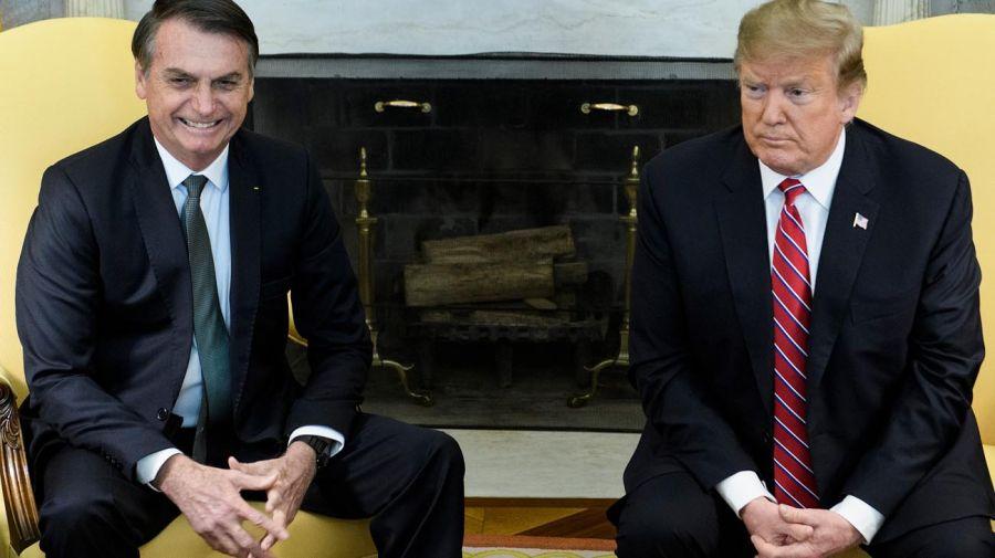 20190319 Trump y Bolsonaro