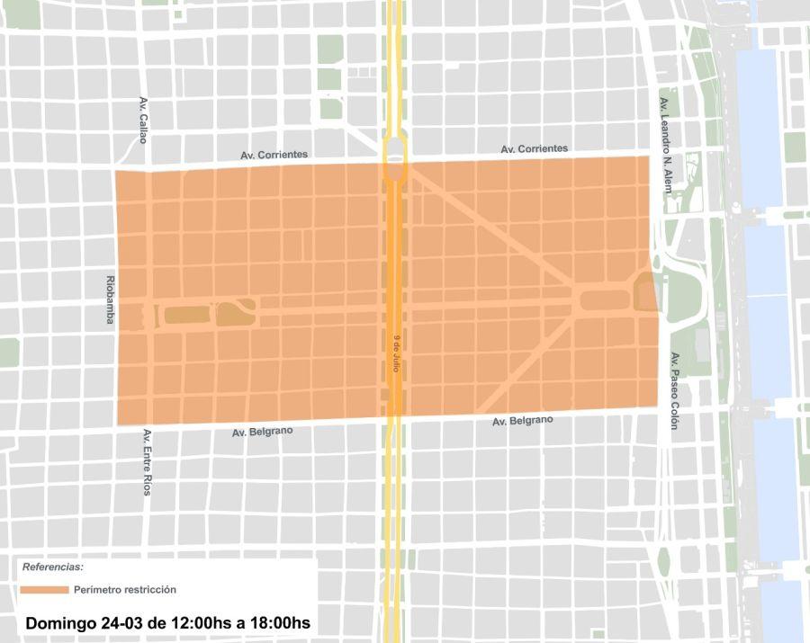 Mapa perímetro comprometido 24 de marzo