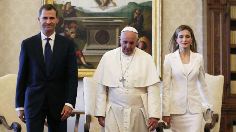 rey felipe papa francisco