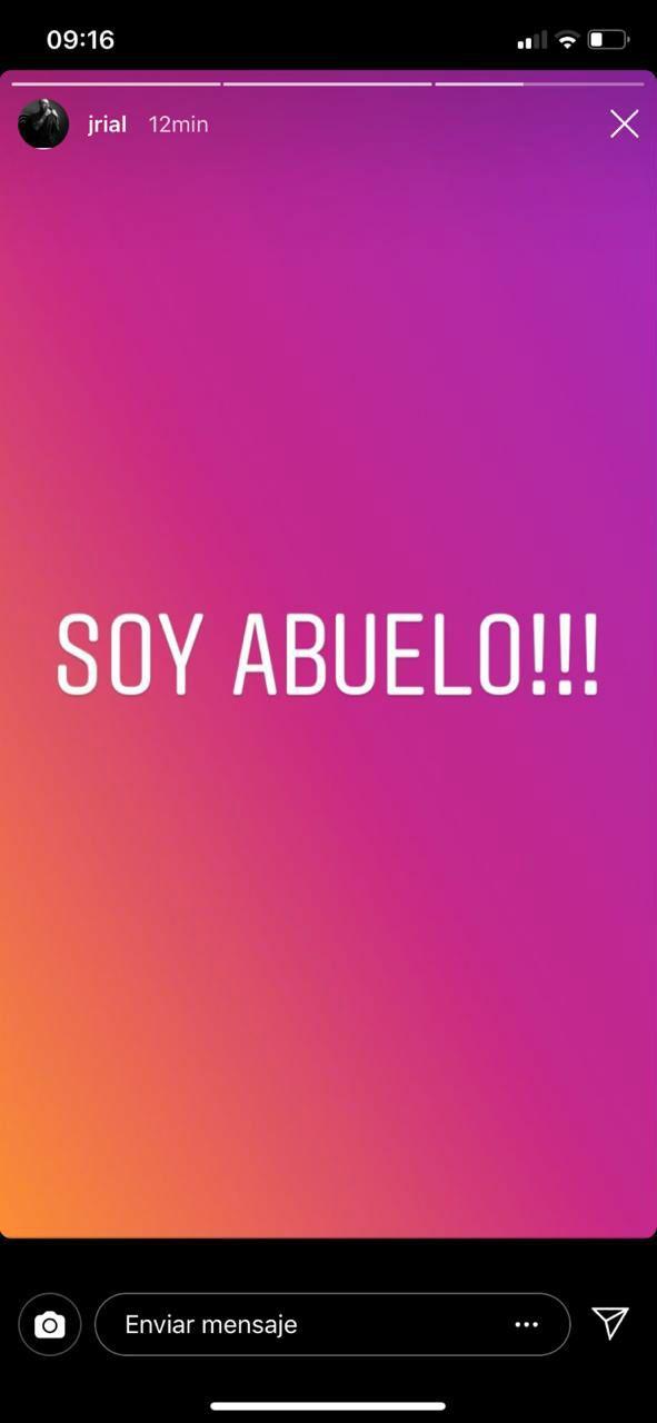 Jorge Rial confirmó el nacimiento de su nieto