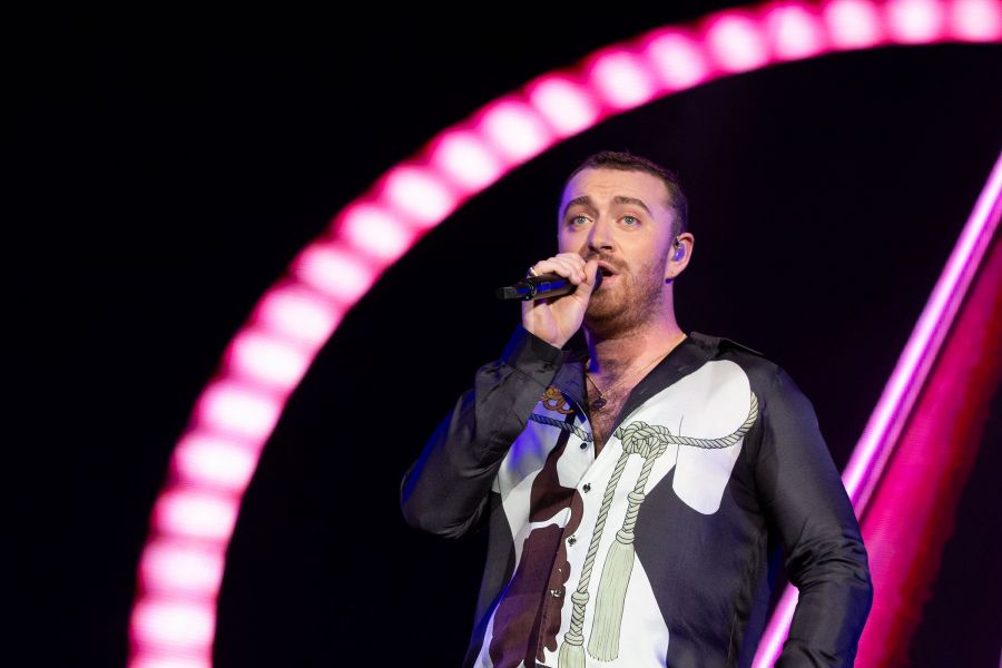 Sam Smith en el Lollapalooza 2019