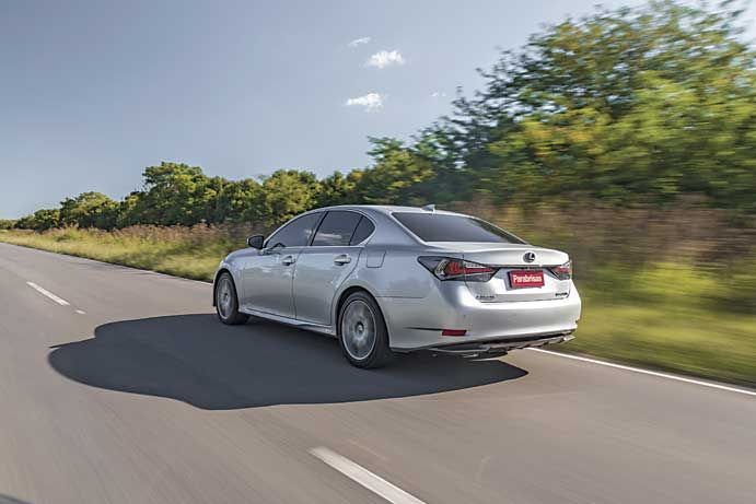 Lexus LG 450h Luxury