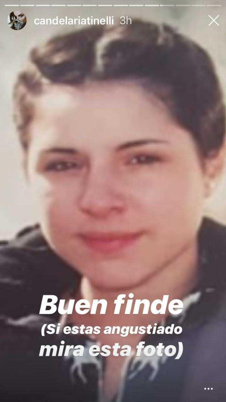 La desopilante foto retro de Candelaria Tinelli y su hermana Micaela