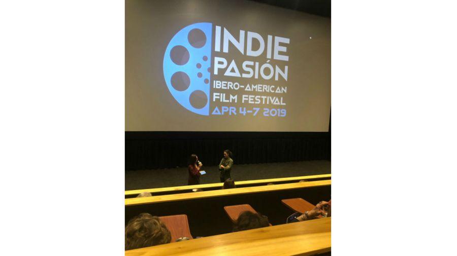 Agustina Macri realizó una presentación después de mostrar su película 'Soledad' en Miami.