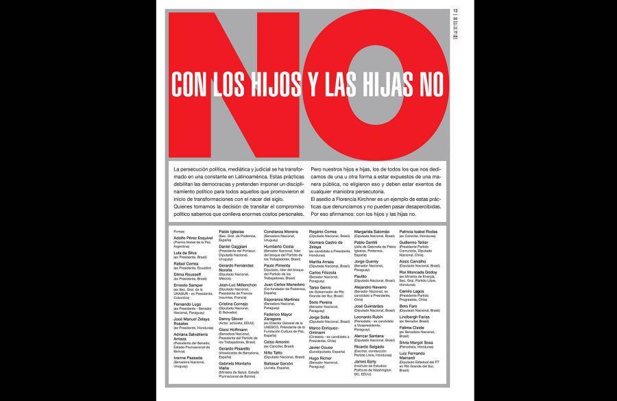 Citan al abogado de Florencia Kirchner por la documentación