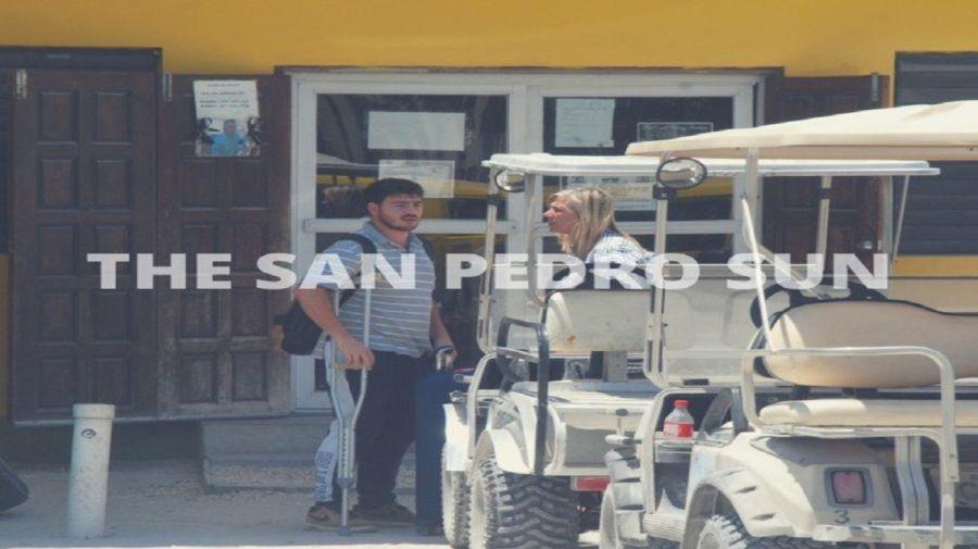 La esposa y el hijo del empresario de la carne Alberto Samid llegaron a Belice.