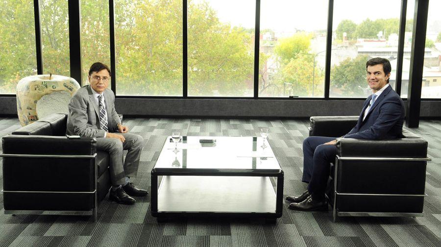 Jorge Fontevecchia y Juan Manuel Urtubey 20190412