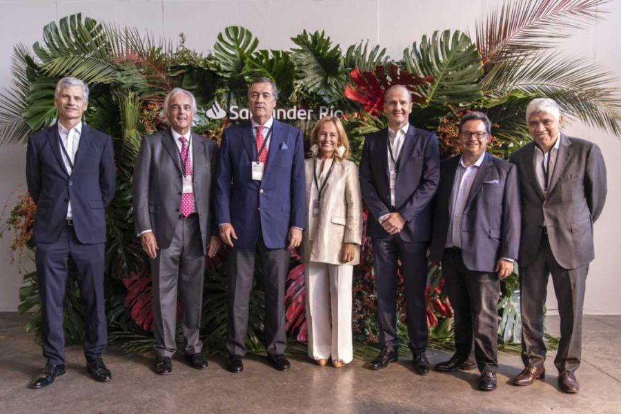 """Enrique Cristofani, Presidente de Santander Río afirmó: """"Estamos muy contentos de acompañar proyectos como éste"""