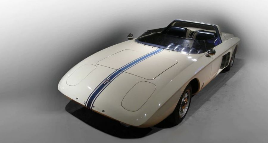 Primer prototipo del Ford Mustang