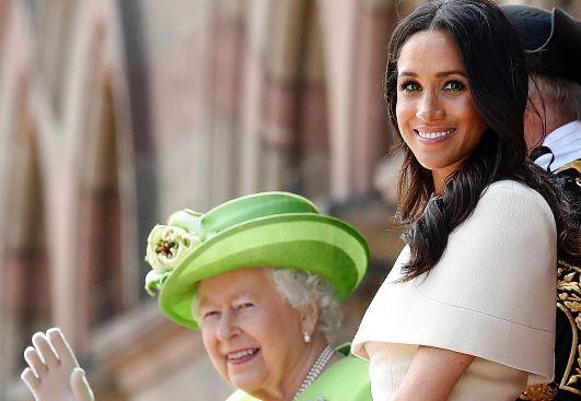 Meghan e Isabel II.