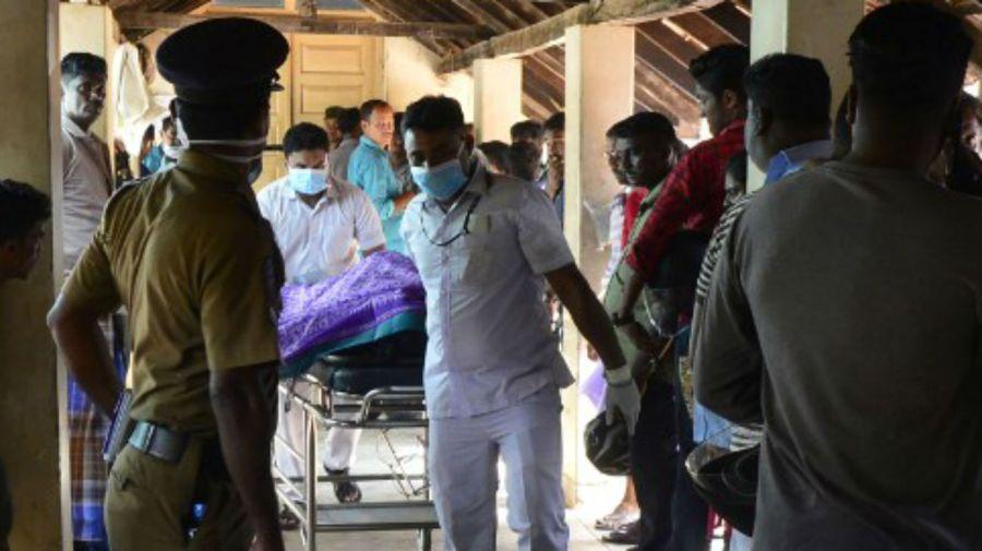 Postales del horror en Sri Lanka.