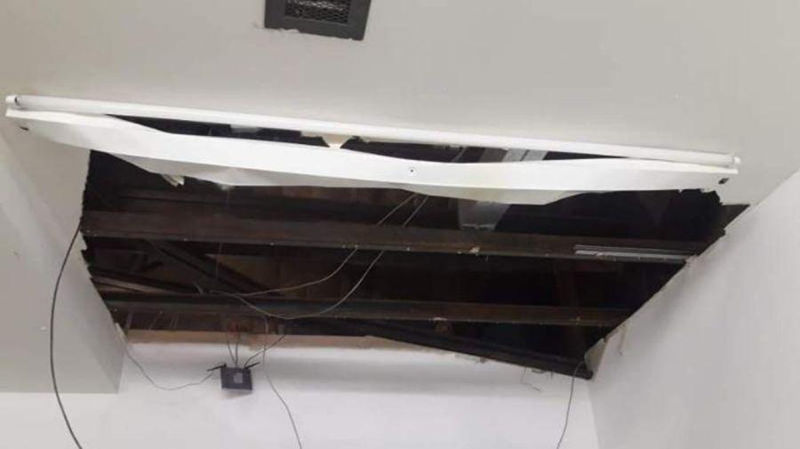 derrumbe techo Rio Gallegos g_20190424