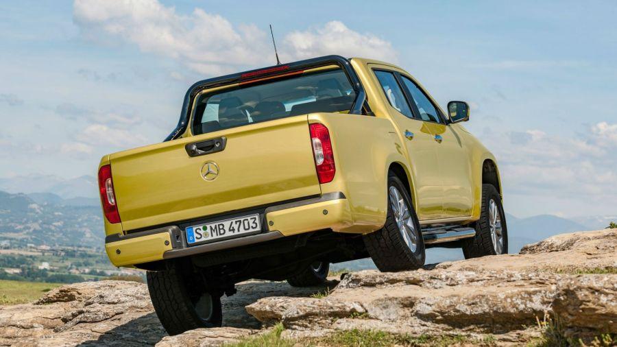 Mercedes Bnez no fabricará la Clase X en Argentina