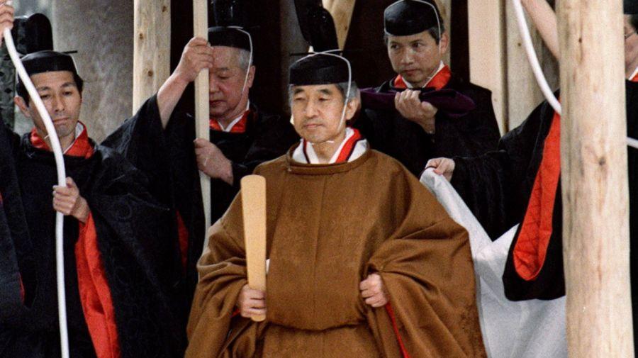 emperador akihito de japon