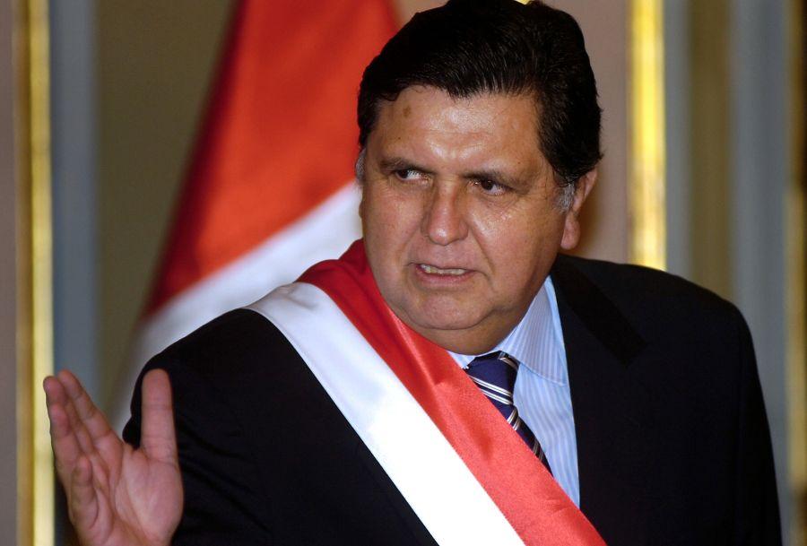 peru President Alan Garcia