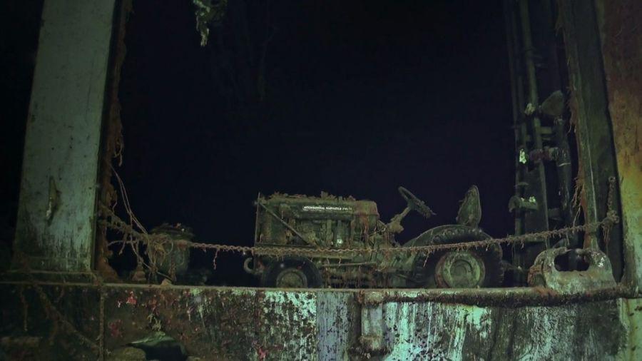 0430 USS Hornet portaaviones hundido