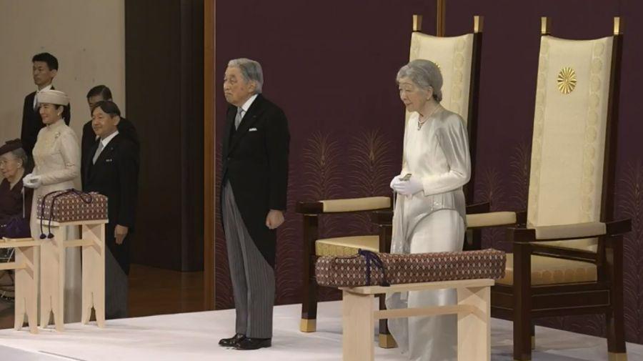 abdicación del emperador Akihito de Japón