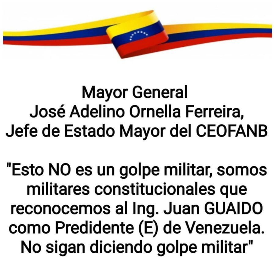 mensaje ferreira venezuela