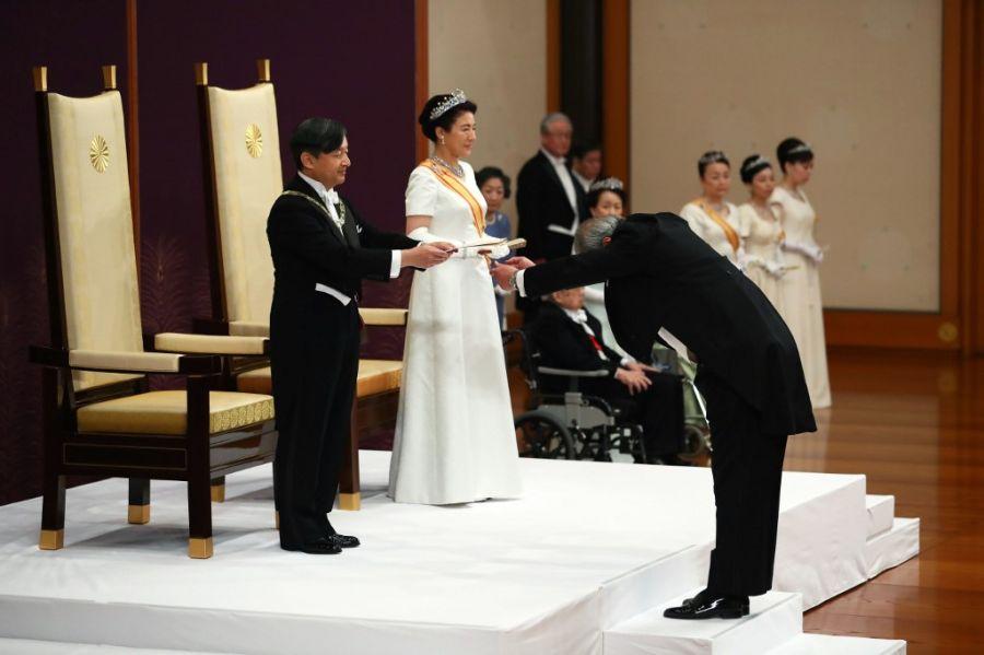 entronizacion emperador naruhito de japon