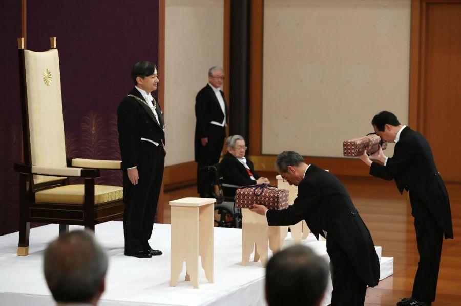 entronizacion emperador naruhito japon