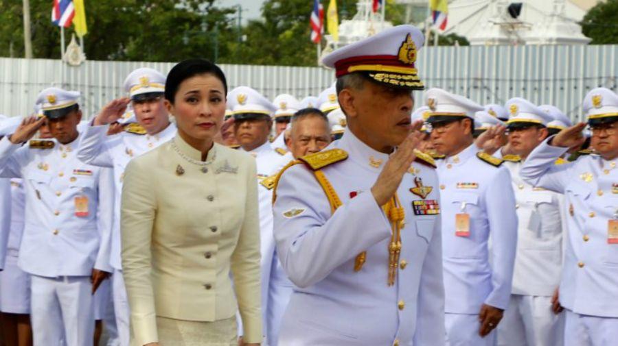boda rey tailandia reina suthida