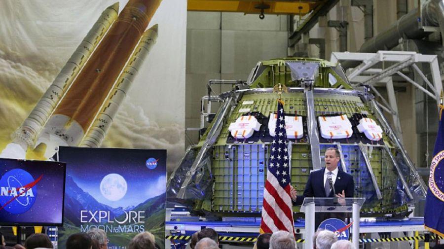Jim Bridenstine, jefe de la NASA.
