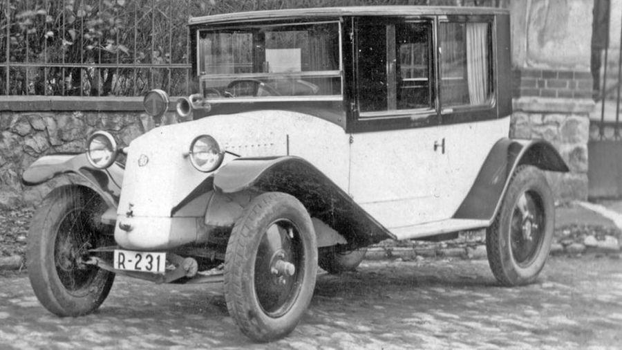 Autos clásicos historia de Tatra