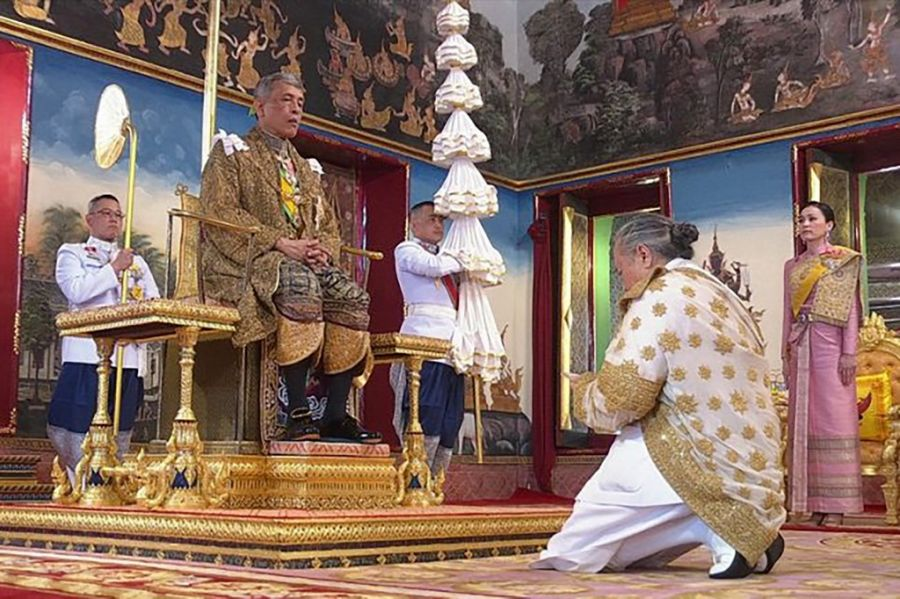 coronacion rey Vajiralongkorn de Tailandia
