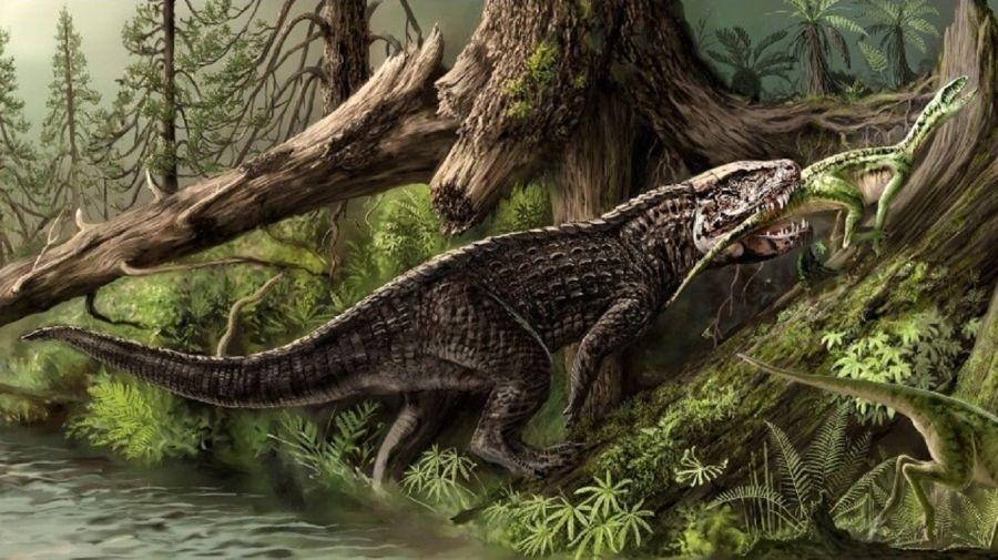Las cinco grandes extinciones masivas en la historia de la Tierra.