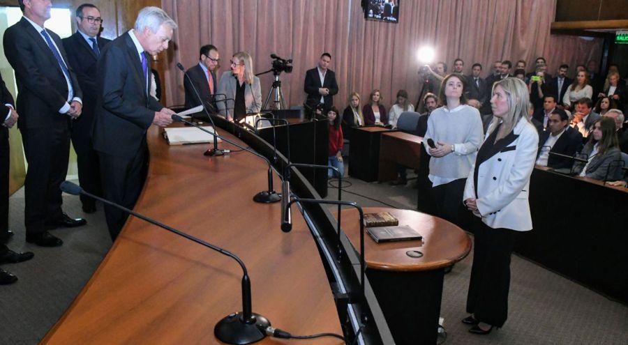 Jura de la nueva Jueza Federal María Eugenia Capuchetti.