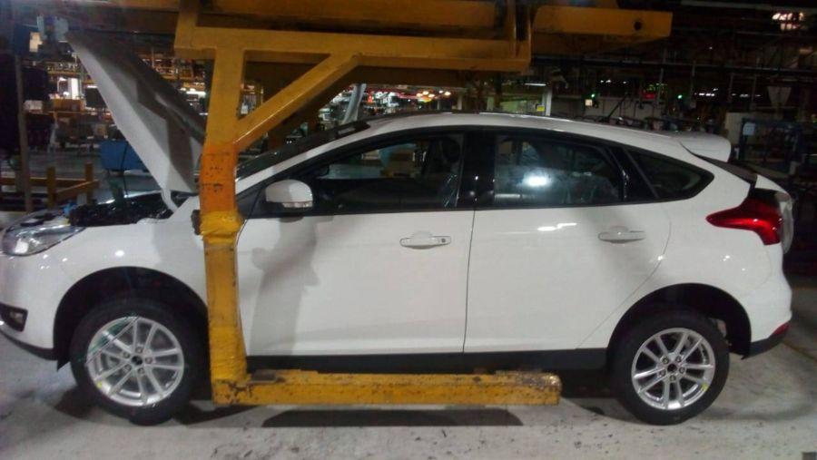 Último Ford Focus producido en Pacheco