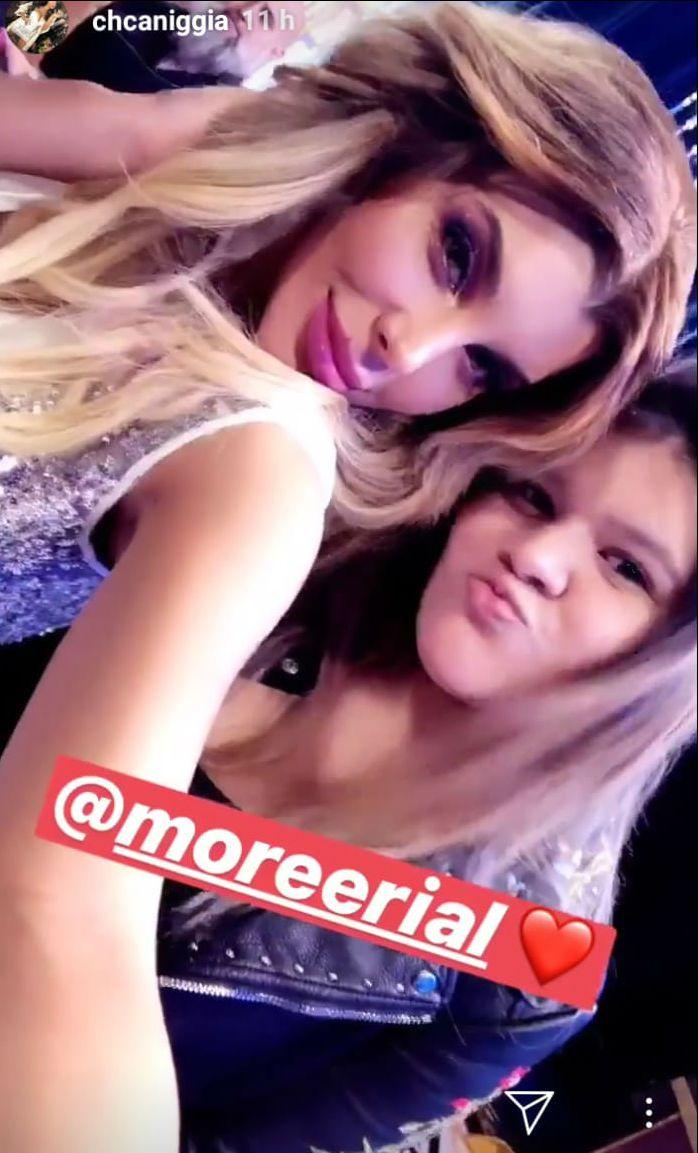 Morena Rial junto a Charlotte Caniggia