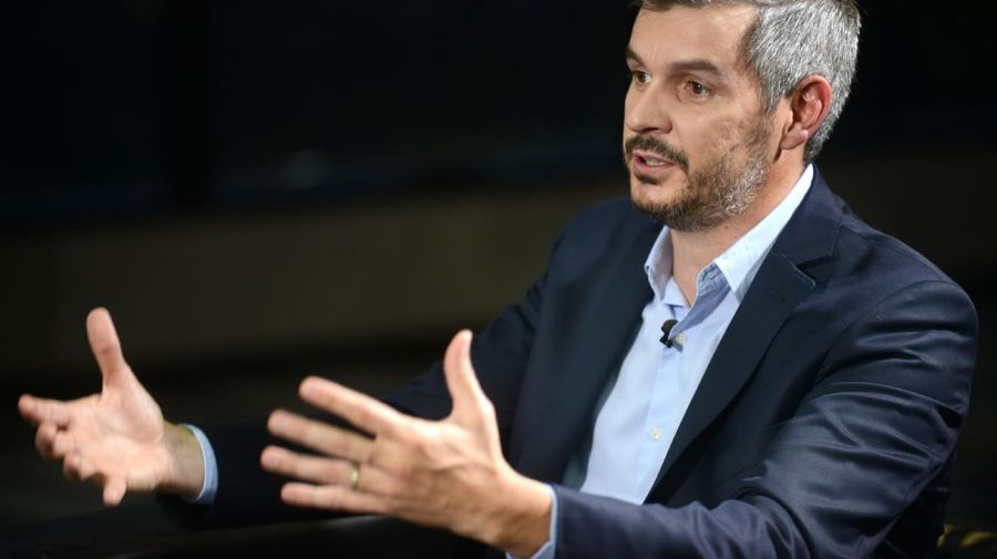 Marcos Peña, en la entrevista que tuvo con Jorge Fontevecchia en Perfil.