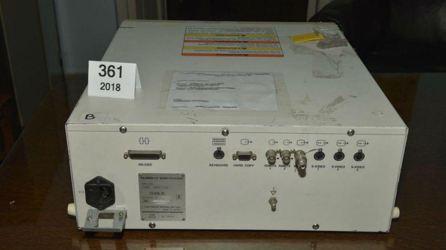 El aparato fue peritado por dos expertos de la UBA.