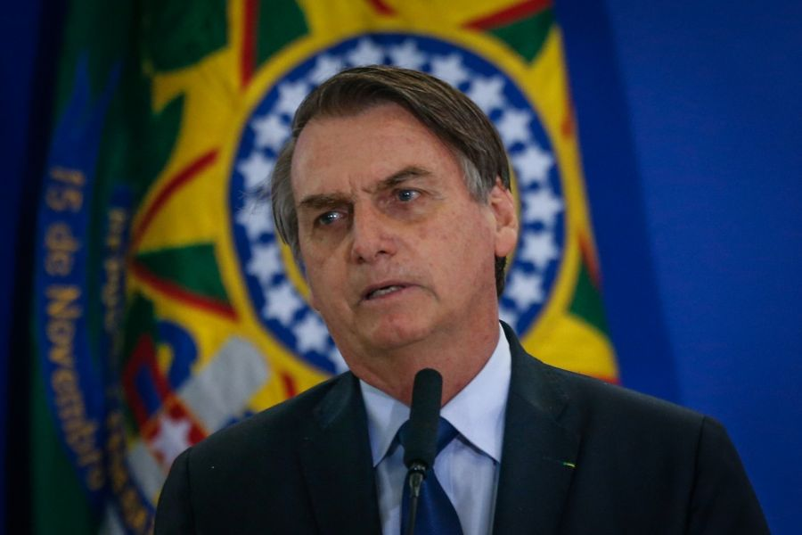 President Jair Bolsonaro Meets With Military Officials