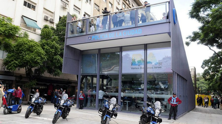 Centro de Monitoreo de la Ciudad de Buenos Aires. Presentación.