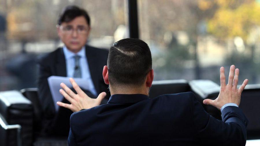 Emmanuel Alvarez Agis, en la entrevista en Diario PERFIL.