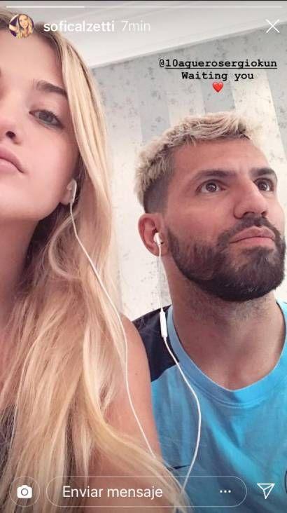 El Kun Agüero desmintió su romance con Sofía Calzetti