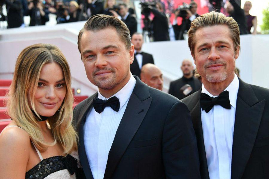 Leo Di Caprio y Brad Pitt